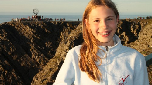 Platz 2 - Anna Felicia Küchler (7b) - Am Nordkapp
