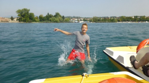Platz 2 - Pascal Schmidt (9e) - Am Gardasee
