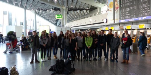 Aufenthalt bei unseren Austauschschülern in Benavente im März 2015