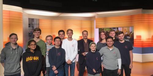 Ausflug der Medien-AG zum ZDF