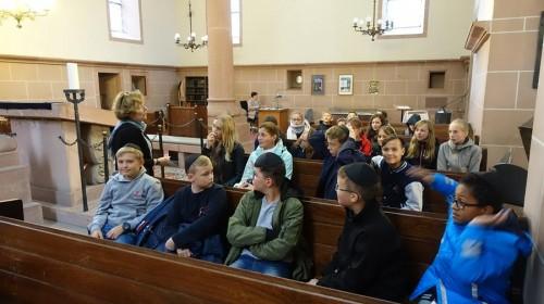 In der jüdischen Synagoge Worms