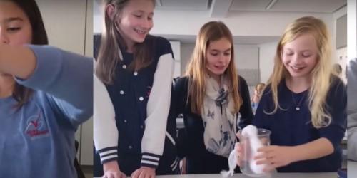 Fruchtwasserexperiment im Biologie-Unterricht
