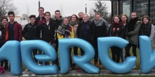 Chemie LK besucht Merck in Darmstadt