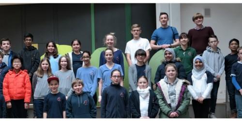 Das Känguru der Mathematik war 2018 wieder zu Besuch am NG!