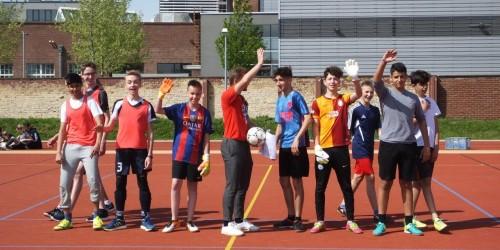 Fußballturnier am Neuen Gymnasium Rüsselsheim (7.-9. Jahrgangsstufe)