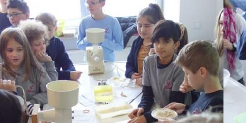 Gesunde Ernährung – eine Expertin besucht den Biologieunterricht der 5. Klassen