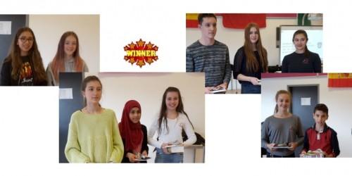 Halbfinale des Spanisch Vorlesewettbewerbs im Neuen Gymnasium