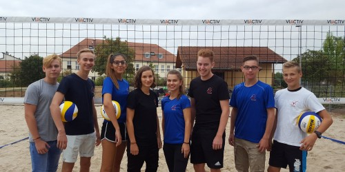 Jugend trainiert für Olympia Beachvolleyball