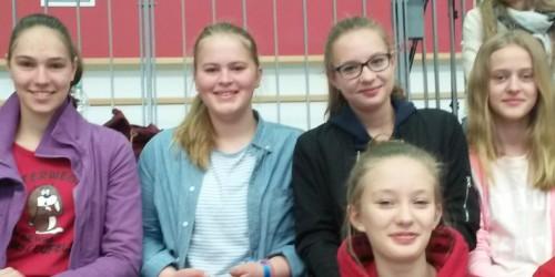 Jugend trainiert für Olympia Mannschaft Handball zu Besuch beim Bundesliga-Team des 1. FSV Mainz 05