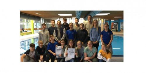 Jugend trainiert für Olympia:  Regionalentscheid im Schwimmen in Wiesbaden