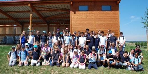 Klassenausflug der 5a/d 2015 zum Karlshof