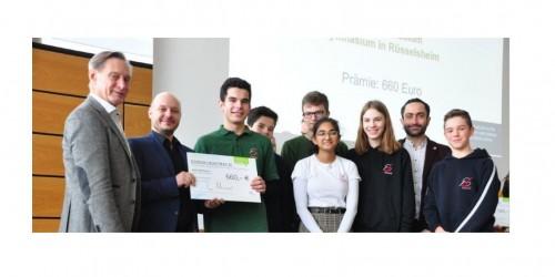 Kreis Groß-Gerau ehrt NG goes green