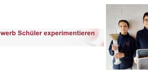 Landessieger Schüler experimentieren Hessen im Fachgebiet Geo- und Raumwissenschaften kommen vom NG Rüsselsheim