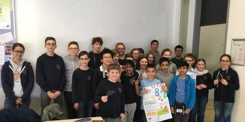Mathematik verbindet: Erfolgreiche Teilnahme am  Pangea-Wettbewerb 2018