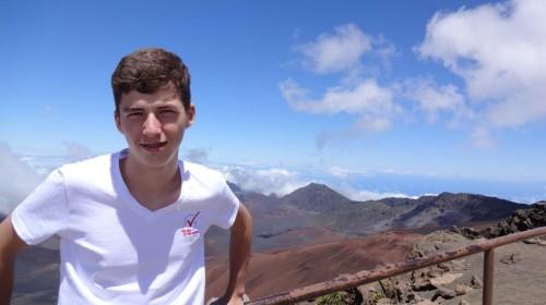 Platz 3 - Yannick Muffler (10a) - Haleakala Krater auf Maui / Hawaii