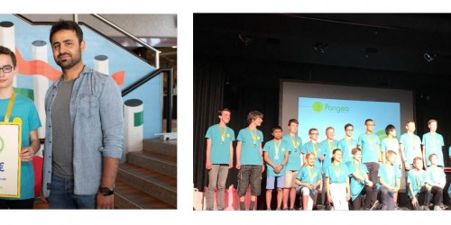 Pangea-Mathematikwettbewerb: Unser Schüler David Schmitz (9c) erhält den 3. Platz