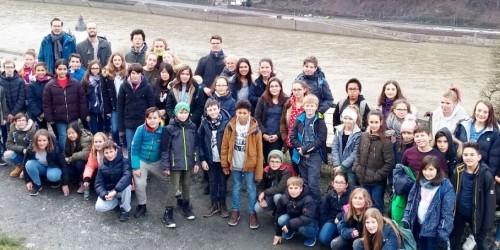 """""""Peter Gunn"""" meets """"Ode an die Freude"""" - Musik-AGs auf viertägiger Probenfahrt in Kaub am Rhein"""