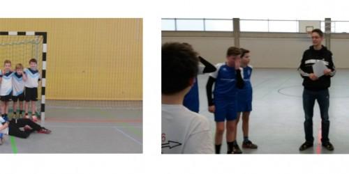 """2. Platz beim """"Jugend trainiert für Olympia"""" Handball –Turnier (WK IV Jungen)"""