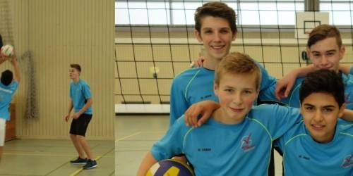 Regionalentscheid Jugend trainiert für Olympia Volleyball  - WK II Jungen