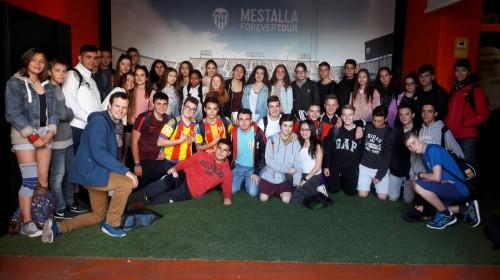 Im Stadion des FC Valencia