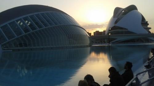 Ciudad de las Artes y Ciencias (Architekt Santiago Calatrava)