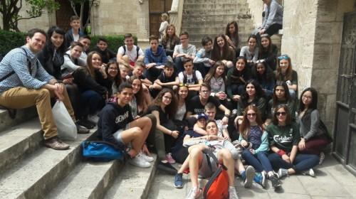 "In der ""Lonja"", Weltkulturerbe im Zentrum Valencias"