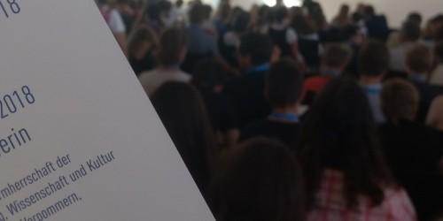 Sprachenfest 2018 in Schwerin – 3 Schülerinnen der 8c erreichen einen 3. Platz