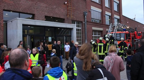 Feuerwehr-Vorführung