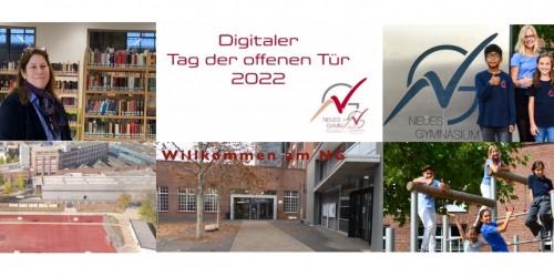 Digitaler Tag der offenen Tür 2021
