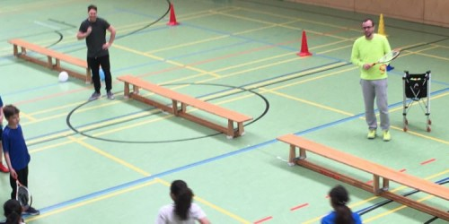 Tennisprojekt im Sportunterricht