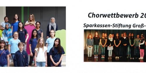 Tolle Platzierung beim Chorwettbewerb der Sparkassenstiftung Groß-Gerau!