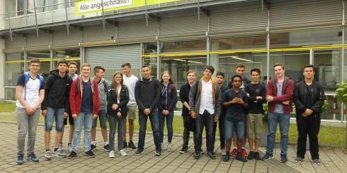 """Unternehmensnachmittag bei der Adam Opel AG im Rahmen des """"I AM MINT"""" Projektes"""