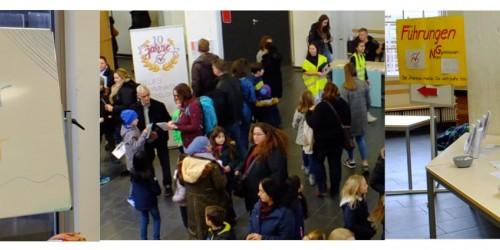 Viele offene Türen am Tag der offenen Tür 2019 am Neuen Gymnasium