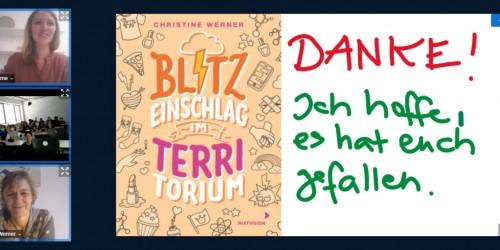 Virtueller Besuch im Deutschunterricht