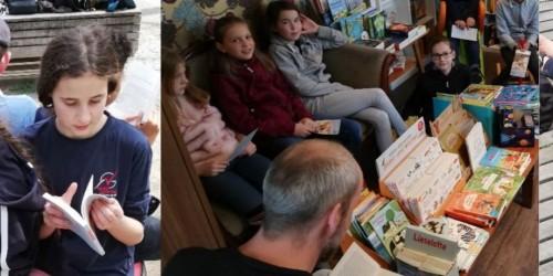 """""""Welttag des Buches"""" – 5d und 5e in Mainz"""