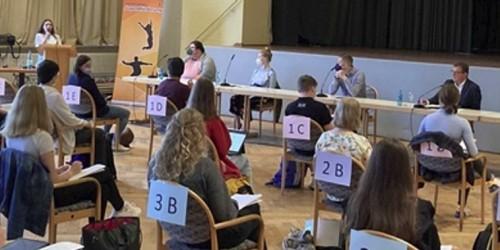 Wem gebe ich die Erststimme? – Podiumsdiskussion in Rüsselsheim zur Bundestagswahl