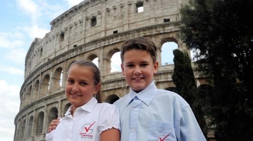 2017- Platz 2 - Geschwister Rosalie und Michael Kurth - Rom
