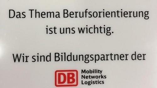 Seit September 2015 Bildungspartner der Deutschen Bahn