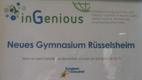 inGenious Schule (2012/13)