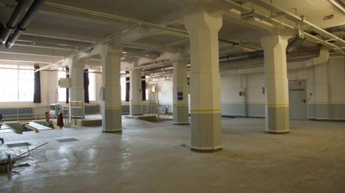 Bibliotheksbereich vor dem Umbau