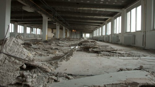 Gebäudebereich vor dem Umbau