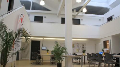 Verwaltungsbereich und Lehrerzimmer in heutiger Form